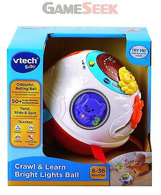 Vtech Baby Crawl And Learn Lights Ball | Free Delivery Brand New Playsets