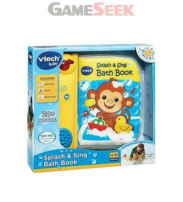 Vtech Baby Splash And Sing Bath Book | Free Delivery Brand New Playsets