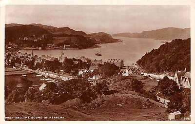 Oban and the Sound of Kerrera Aerial view Panorama 1937