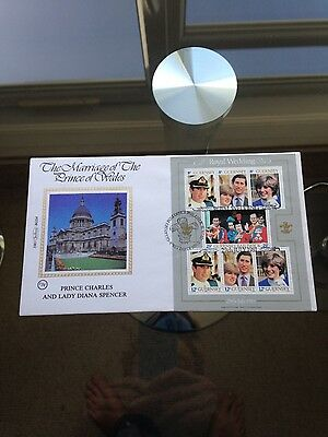 Princess Diana & Prince Charles First Day Cover Stamps