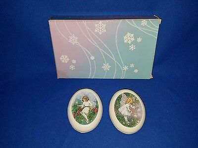 Multi 3 Oz Avon Enchanted Land Fairy Decal Scented Guest Soap - 2 Pieces