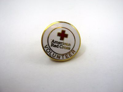 Vintage Collectible Pin: American Red Cross Volunteer ARC