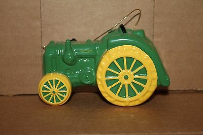 John Deere GP Tractor Ceramic Hanging Christmas Ornament 2000
