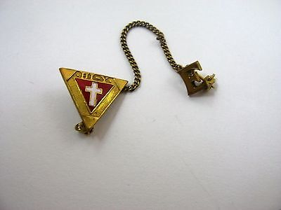 Vintage Collectible Pin: Hi-Y High School YMCA E