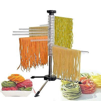 MaxBourne Pasta Drying Rack/Pasta Dryer Spaghetti Dryer Stand Noodles Drying ...