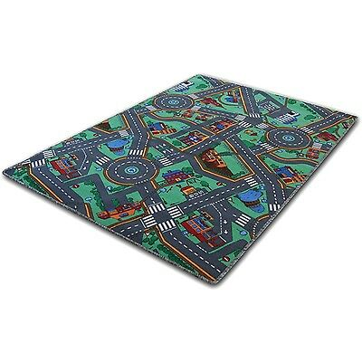 Children's Play Mat - My Town - 100x165cm - 4 sizes available 100 x 165 cm
