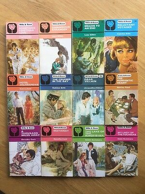 Job Lot Of 12 Mills And Boon Books Romance