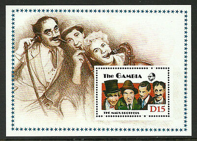 Gambia 776 Mint Never Hinged S/Sheet - Marx Brothers