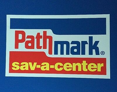 Pathmark Store Signage From Pathmark Sav-A-Center Store