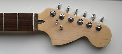 Squier Stratocaster Neck 70's headstock with hardware - Indonesia