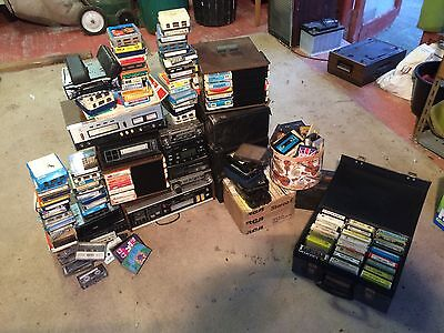 Assortment/various/Job Lot 8 Track Players And 8 Track Tapes/cassettes