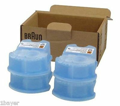 Braun Health Beauty Clean Renew Hair Remover Shaver Cartridge Refill (4pc)
