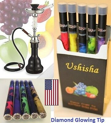 Hookah Disposable Pen Diamond Electronic Shisha USA (5 Pack)