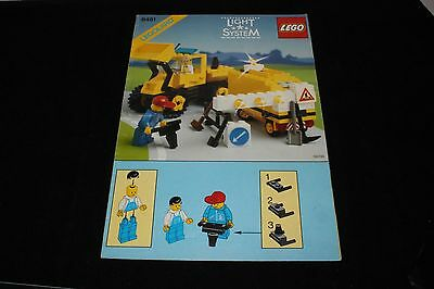 LEGO - VINTAGE INSTRUCTIONS ONLY FOR SET # 6481-1: Light & Sound Construction Cr