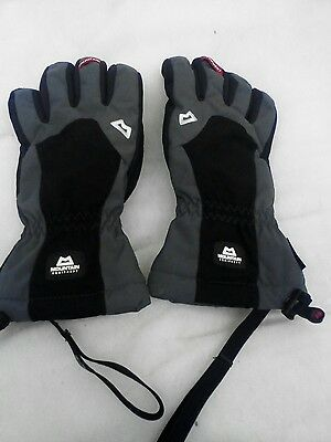 Mountain equipment men's guide gloves  medium black