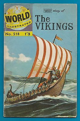 Classics Illustrated Comic The Vikings  48 pages  #851