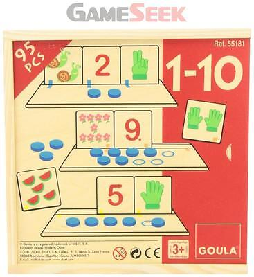 Goula Counting 1 - 10 Puzzle
