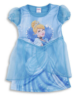 Disney Princess Cinderella Girls Kids Fancy Dress Up Costume Party Outfit