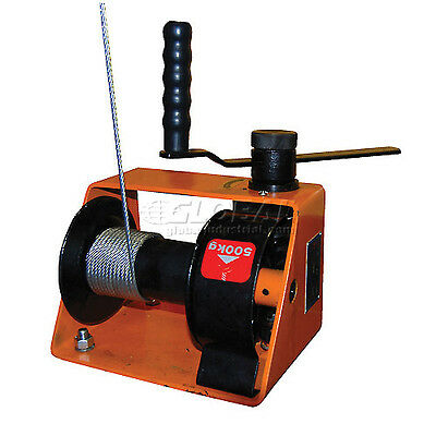 250kg Manual Worm Winch