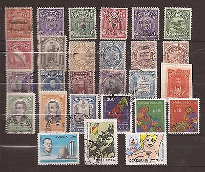 Bolivien  ( Bolivia )  -  Lot Of  Stamps