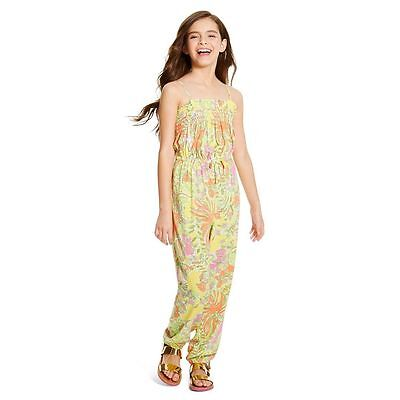 New! Lilly Pulitzer for Target Girls' Jumpsuit - Happy Place XL (14-16)