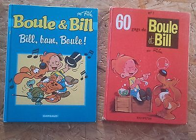 *TBE* Lot 2 BD Boule & Bill 2003 / 1991 éditions Dargaud / Dupuis