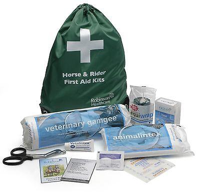Robinsons Horse & Rider First Aid Kit  long hack or Riding holiday Essentials