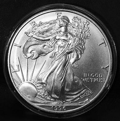 1996 American Silver Eagle Key Date Uncirculated