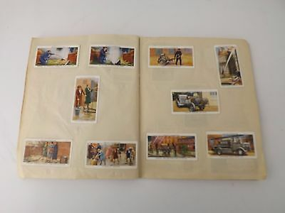 Will's Churchman's Player's Cigarette Cards In Military Schools Exercise Book