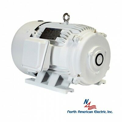 10 hp electric motor for rotary phase converter 215t tefc 208-230/460 no shaft