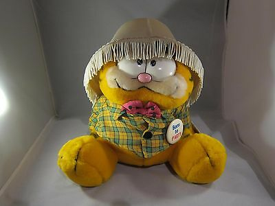 "Vintage DAKIN GARFIELD #03-7490 BORN TO PARTY Plush Doll 10"" ORIGINAL TAGS NEW"