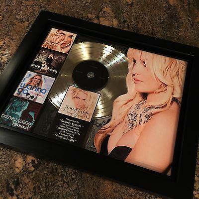 Britney Spears Femme Fatale Platinum Record Album Disc Music Award Grammy RIAA