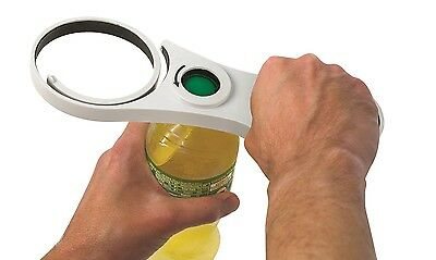 Handy Gourmet Universal Easy Jar Can Bottle Opener, 5 in 1 Twistease Twister NEW