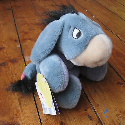 Disney Store Moving Eeyore Toy Winnie the Pooh With Tags