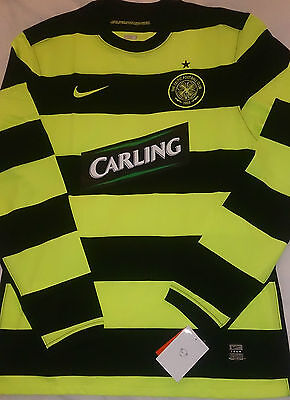 Celtic Long Sleeve Nike Football Jersey L/S Shirt New