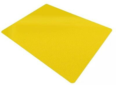 """Office Marshal® Office Chair Mat - Yellow - Hard Floor Protection, 30"""" x 48"""""""