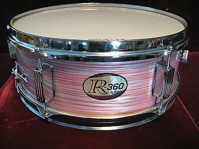 "VTG 1968 Rogers RARE ""Red Wine Ripple"" R360 Snare Drum, Impecable Spotless Cond!"