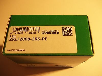 ZKLF2068-2RS-PE (20x68x28 mm) INA Axial-Schrägkugellager