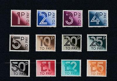 GB 1982 MNH Postage Dues To £5 SG#D90-D101 #A1920