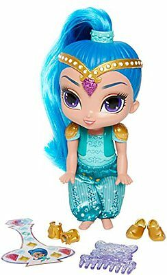 Fisher-Price Shimmer and Shine Shine Modepuppen Kinderspiele Spielzeug NEU