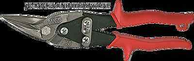 Wiss Aviation Compound Tin Snips Left Cut Red Handle M1R Metal Shears USA MADE