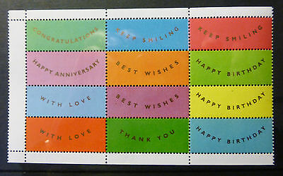 GB QEII Smilers labels from Greeting Booklet