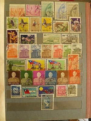 China, old, valuable stamp collection.