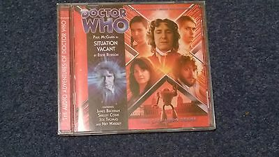 Doctor who BIG FINISH audiobook - 4.02  (CD)  - SITUATION VACANT