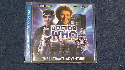 Doctor who BIG FINISH audiobook (CD)  - THE ULTIMATE ADVENTURE