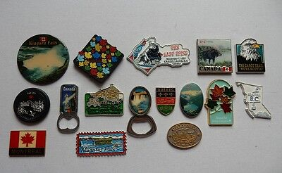 One Selected Souvenir Fridge Magnet from Canada