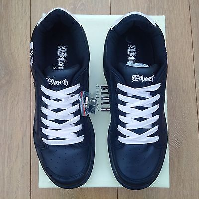 Bloch SO515 Black & Pink Leather Hip Hop Dance Sneakers UK size 9
