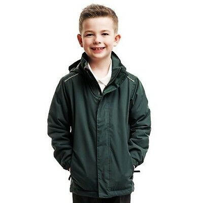 Regatta RG251 Junior Classic School Jacket Kids Waterproof Polyester Hoodie Suit