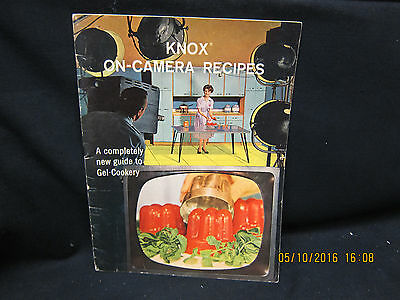 "Knox On Camera Recipes 1962 ""A Completely New Guide to Gel-Cookery"