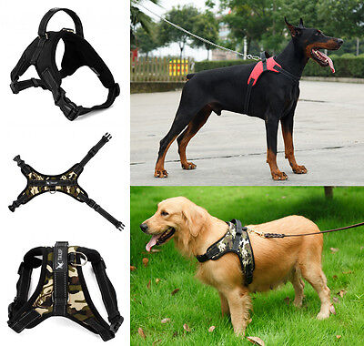 Pet Collar Large/Medium/Small Dog Soft Adjustable Harness Walk Out Vest